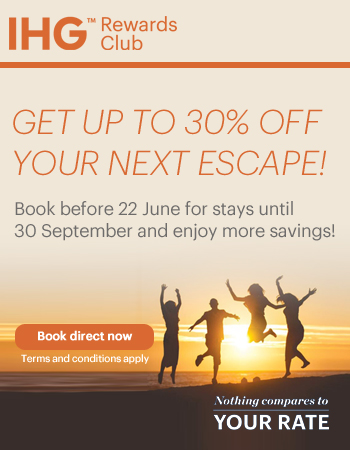 Up to 30% off with IHG Your Rate