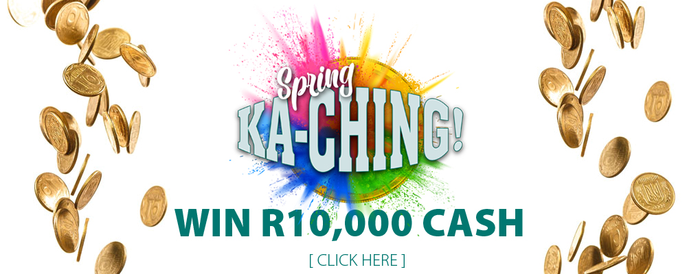 Enter our Spring Ka-Ching Competition